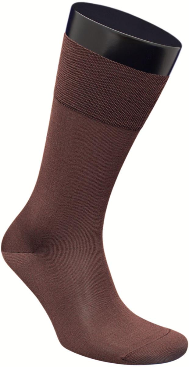 Носки мужские Гранд, цвет: коричневый, 2 пары. ZCmr159. Размер 29ZCmr159Элитные однотонные мужские носки из мерсеризованного хлопка: - основа материала – высококачественный хлопок; - бесшовная технология (кеттельный, плоский шов); - обладают повышенной воздухопроницаемостью; - не линяют после многочисленных стирок; - имеют оптимальную высоту паголенка; - мягкая анатомическая резинка; - усилены пятка и мысок. Носки долгое время сохраняют форму и цвет, а так же обладают терморегулирующими свойствами.