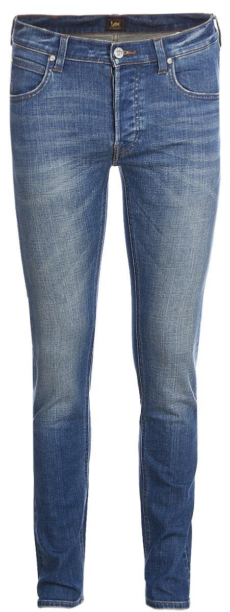 Джинсы мужские Lee, цвет: синий. L706LGKC. Размер 29-32 (44/46-32)L706LGKC