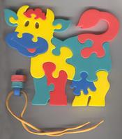Купить Коровка. Мягкая мозаика, Тедико, Обучение и развитие