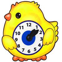 Купить Развивающая игрушка Часы Цыпленок, Дрофа-Медиа