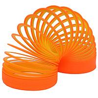 Купить Пружинка Slinky neon . Цвет: оранжево-желтый, Развлекательные игрушки
