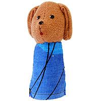 Купить Кукла пальчиковая Собачка Жучка , Наивный мир