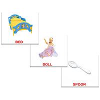 Купить Вундеркинд с пеленок Обучающие карточки Первые английские слова, Обучение и развитие