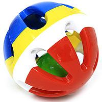 Купить Погремушка Шарик , цвет в ассортименте, Стеллар, Первые игрушки