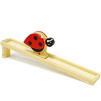 Купить Игровой набор Горка-божья коровка , Мир деревянных игрушек