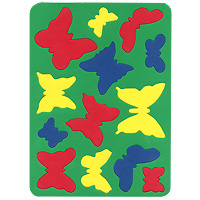 Купить Бомик Пазл для малышей Бабочки, Обучение и развитие