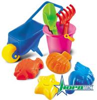Купить Набор для песка Нордпласт № 18, 8 предметов, Игрушки для песочницы