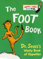 Купить The Foot Book, Зарубежная литература для детей