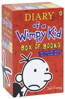 Купить Diary of a Wimpy Kid (комплект из 4 книг), Зарубежная литература для детей