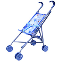 Купить Прогулочная коляска для кукол Melobo , цвет: синий, Куклы и аксессуары