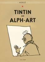 Купить Tintin and Alph-Art, Зарубежная литература для детей