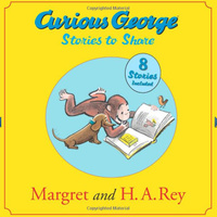 Купить Curious George Stories to Share, Зарубежная литература для детей