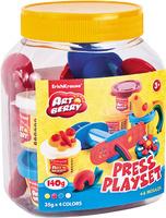 Купить Набор для лепки (на растительной основе) Press Playset , 4 цвета, Erich Krause Deutschland GmbH, Пластилин