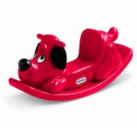 Купить Качалка Собака , цвет: красный, MGA Entertainment, Качалки