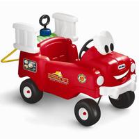 Купить Детский автомобиль-каталка Пожарная машина , цвет: красный, Little Tikes, Каталки, понициклы