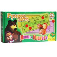 Купить Десятое королевство Русское лото Маша и Медведь