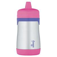 Купить Термос-поильник Phases Foogo с твердым носиком, цвет: розовый, сиреневый, 290 мл, Thermos