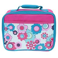Купить Сумка-термос Lunch Kit Floral Soft для ланча, детская, цвет: розовый, голубой, Thermos