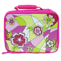 Купить Сумка-термос Lunch Kit Mod Floral Soft для ланча, детская, цвет: розовый, зеленый, Thermos