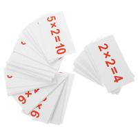 Купить Вундеркинд с пеленок Обучающие карточки Умножение