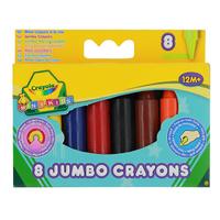 Купить Восковые мелки Crayola Для самых маленьких , 8 цветов, Мелки и пастель
