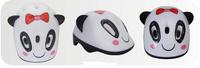 Купить Шлем защитный Action Панда , цвет: белый, черный. Размер XS (48/51)