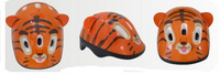 Купить Шлем защитный Action Тигренок , цвет: оранжевый. Размер XS (48/51)