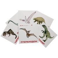 Купить Вундеркинд с пеленок Обучающие карточки Динозавры