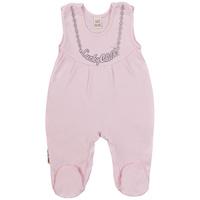 Купить Ползунки с грудкой для девочки Lucky Child, цвет: розовый. 2-14. Размер 74/80, Одежда для новорожденных