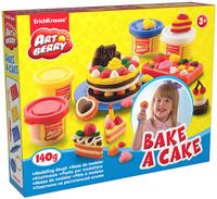 Купить Набор для лепки (на растительной основе) Bake a Cake , 4 цвета, Erich Krause Deutschland GmbH, Пластилин