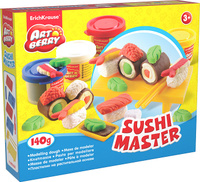 Купить Набор для лепки (на растительной основе) Sushi Master , 4 цвета, Erich Krause Deutschland GmbH, Пластилин