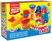 Купить Набор для лепки (на растительной основе) Funny Faces , 3 цвета, Erich Krause Deutschland GmbH, Пластилин