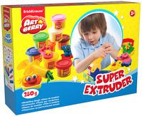 Купить Набор для лепки (на растительной основе) Super Extruder Playset , 8 цветов, Erich Krause Deutschland GmbH, Пластилин