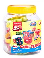 Купить Набор для лепки (на растительной основе) Game Planet , 4 цвета, Erich Krause Deutschland GmbH, Пластилин