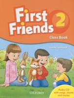 Купить First Friends 2: Class Book (+ CD), Английский язык