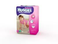 Купить Huggies Подгузники-трусики для девочек 4, 9-14 кг, 17 шт, Подгузники и пеленки