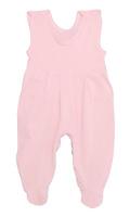 Купить Ползунки с грудкой Трон-плюс, цвет: розовый. 5237. Размер 68, 6 месяцев, Одежда для новорожденных