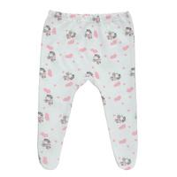 Купить Ползунки Трон-Плюс, цвет: белый. розовый, рисунок коровы. 5256. Размер 68, 6 месяцев, Трон-плюс, Одежда для новорожденных