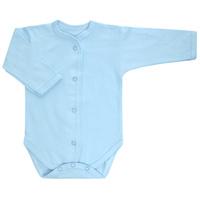 Купить Боди детское Трон-Плюс, цвет: голубой. 5866. Размер 74, 9 месяцев, Трон-плюс, Одежда для новорожденных