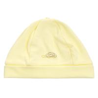 Купить Шапочка унисекс Клякса, цвет: светло-желтый. 37-160. Размер 44, 6 месяцев, Одежда для новорожденных