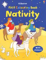 Купить First Colouring Book Nativity, Раскраски на любой вкус