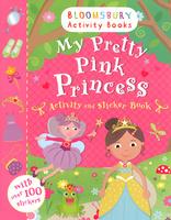 Купить My Pretty Pink Princess: Activity and Sticker Book, Книжки с наклейками
