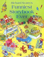 Купить Richard Scarry's Funniest Storybook Ever, Зарубежная литература для детей
