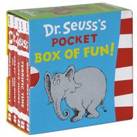 Купить Dr. Seuss's Pocket Box of Fun! (комплект из 5 миниатюрных изданий), Зарубежная литература для детей