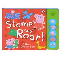 Купить Peppa Pig: Stomp and Roar! Книжка-игрушка, Музыкальные книжки, погремушки, пищалки