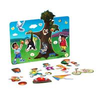 Купить Bondibon Обучающая игра Веселые каникулы, Bondibon Creatures Co., LTD