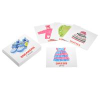 Купить Вундеркинд с пеленок Обучающие карточки Одежда