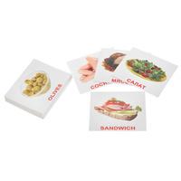 Купить Вундеркинд с пеленок Обучающие карточки Еда