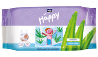 Купить Bella Влажные салфетки Baby Happy Алое Вера , 56 шт, Bella baby Happy, Подгузники и пеленки