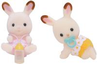 Купить Sylvanian Families Набор фигурок Шоколадные Кролики-двойняшки